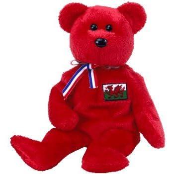 9c1193f1fea Amazon.com  TY Beanie Baby - WISCONSIN the Bear (I Love Wisconsin ...