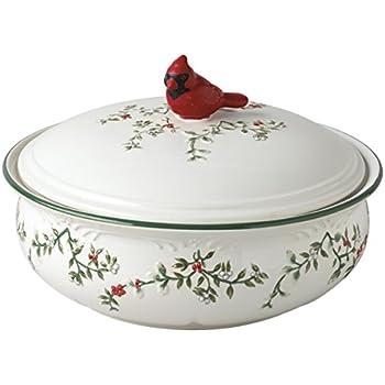 Amazon.com | 10994300 Pfaltzgraff Winterberry Dinnerware, Assorted ...