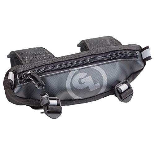 Giant Loop ZHB-Black Zigzag Handlebar Bag - 1.5 Liter Capacity, Black