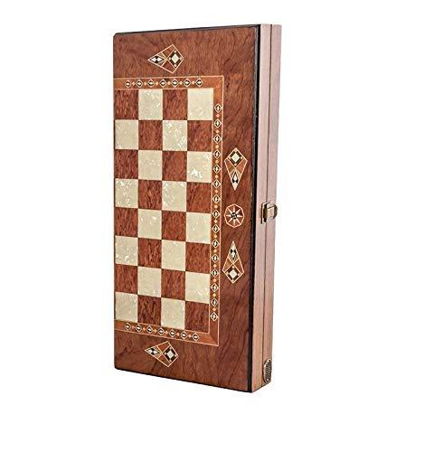 Helena wood art Classic Backgammon Set - Small | Rosewood