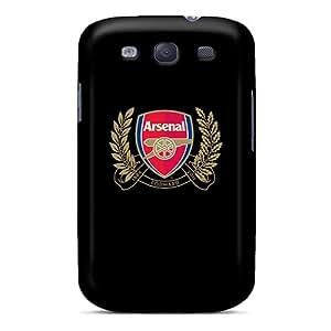 Samsung Galaxy S3 Mov1495ZPEG Custom Beautiful Arsenal Image Scratch Protection Hard Phone Covers -ColtonMorrill