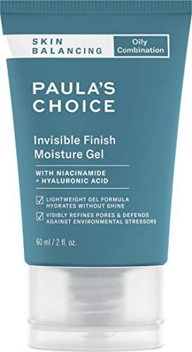 Paula's Choice SKIN BALANCING Invisible Finish Gel Moisturizer | Niacinamide & Hyaluronic Acid | Large Pores | Oily Skin | 2 Ounce