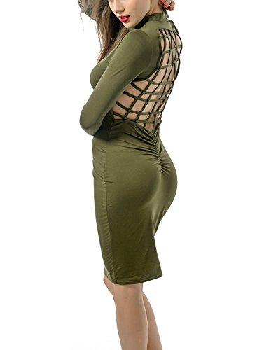 Beaded Silk Lace Pleated Dress - 5