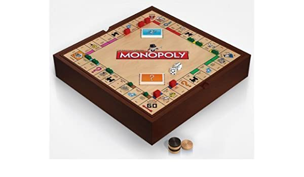 Deluxe 5-in-1 Game Set with Monopoly, Chess and More by Winning Solutions: Amazon.es: Juguetes y juegos
