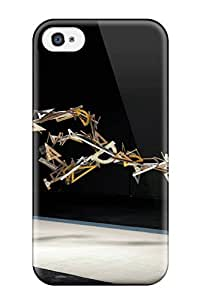 For Iphone 4/4s Tpu Phone Case Cover(funny Gymnast )