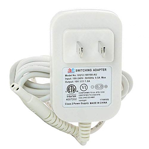 Authentic Original Replacement Charging Travel-Ready Power Adapter for Hitachi Vibratex Magic Wand Rechargeable HV-270