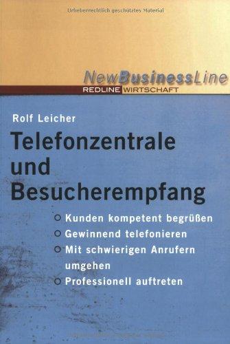 Telefonzentrale Und Besucherempfang  New Business Line