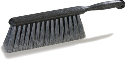 Carlisle Bench - Carlisle 3621123 Flo-Pac Counter/Bench Brush With Flagged Polypropylene Bristles 8'' - Gray (12 PER CASE)