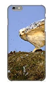 Inthebeauty Case Cover For Iphone 6 Plus - Retailer Packaging Animal Snowy Owl Protective Case