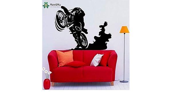 Motocross Racing Tatuajes de pared Habitaciones para niños ...