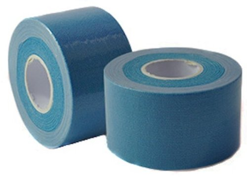Kinesiology Athletic Tape for Mobility & Injury Repair; 2 in x 16.5 ft (Blue)