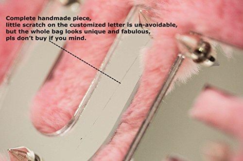 Zarapack, Poschette giorno donna rosa pink M Note Color & Max 5 letters