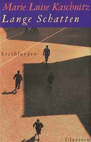 Lange Schatten: Erzählungen