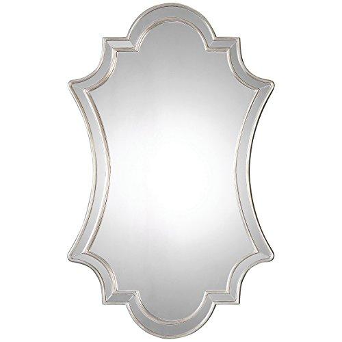 Uttermost 8134 Elara Antiqued Wall Mirror, -