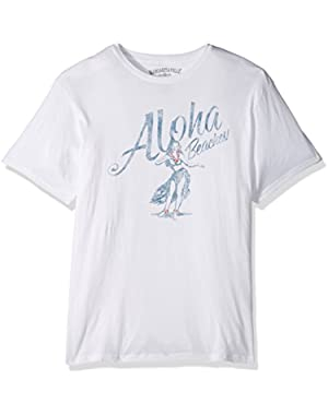 Men's Short Sleeve Aloha Beaches T-Shirt