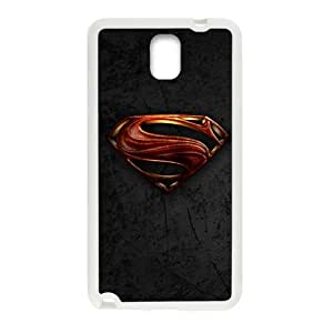 SANYISAN Superman Symble White samsung galaxy note3 case