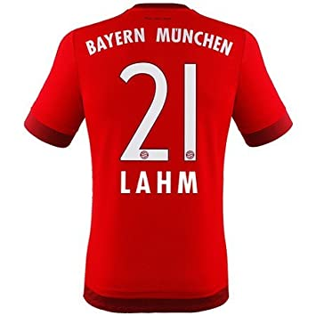 Adidas Fc Bayern München Home Trikot 201516 Lahm Kinder Amazon