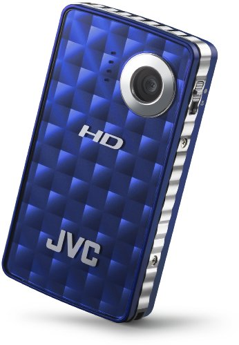 JVC PICSIO GC-FM1A HD Camcorder (Brilliant Blue)