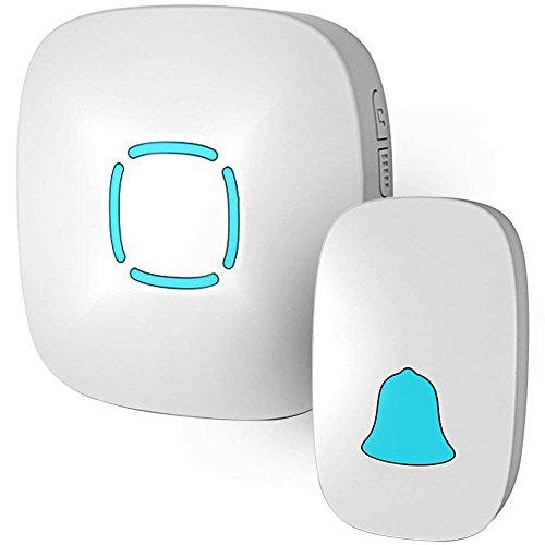 Doorbell, Lovin Product Waterproof Wireless Doorbell Chime...