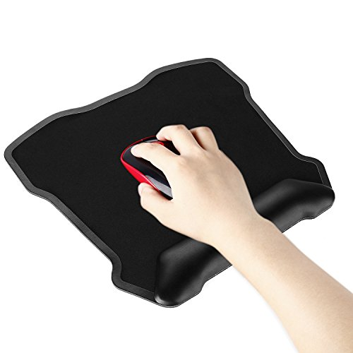 Mouse Pad Mat Jelly Comb Large Gaming Mouse Mat Ergonomic