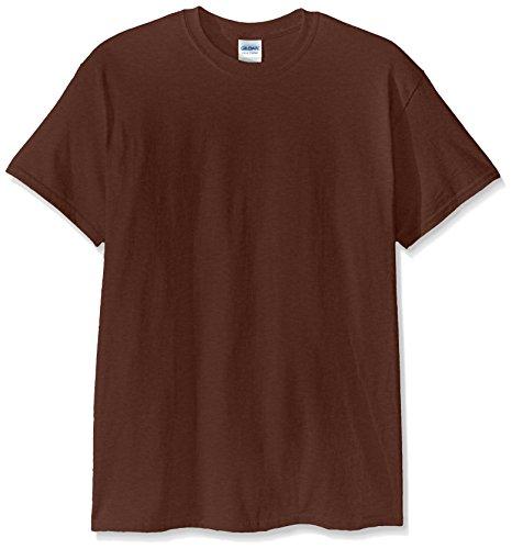 Gildan Men's Ultra Cotton Tee, Chestnut, Medium