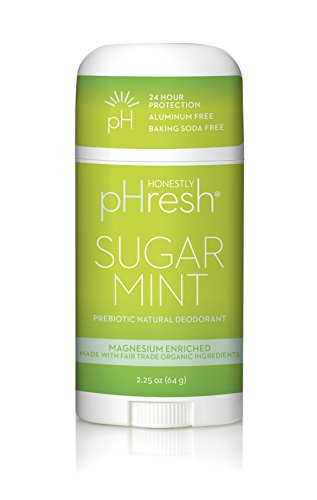 (Honestly pHresh Women's Natural Deodorant - Sugar Mint)