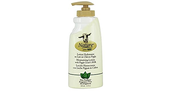 Amazon.com: Canus - Nature Moisturizing Lotion with Fresh Goats Milk Fragrance Free - 11.8 oz.(pack of 6): Health & Personal Care