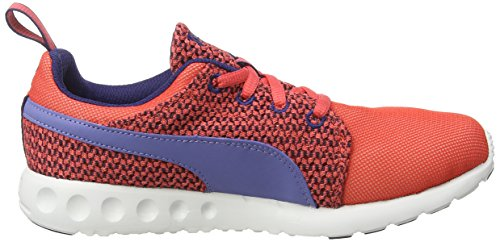 Sneakers Knit cayenne Aura Basses astral Puma Femme Runr Rouge Carson Denim 02 bleached Rot qExwRFt6C