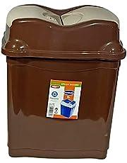 Winner Plast Trash Bin - Beige Brown
