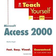 Teach Yourself Microsoft Access 2000