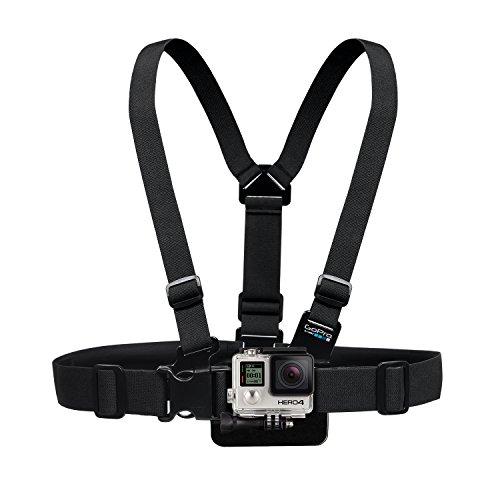 GoPro Brustgurt Halterung (vertikale Schnellspannschnalle, Rändelschraube)