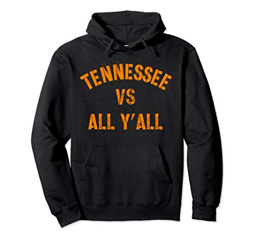 Tennessee Football VS All Yall T-shirt Knoxville Pullover Hoodie