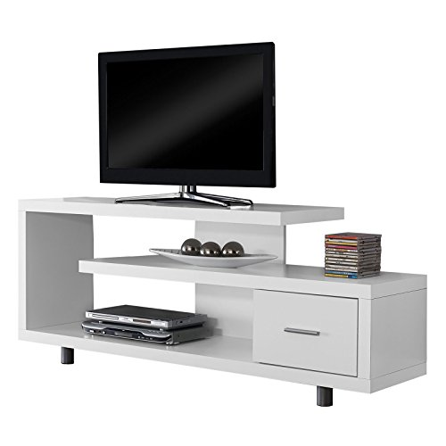 White Hollow-Core 60 L TV Console