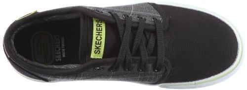 Skechers TossersPinpoint 90980L Jungen Sneaker Schwarz (Bkgy)