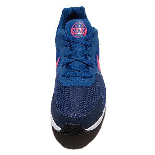 Nike Heren Air Max Guile Sportschoen Obsidiaan / Solar Rood / Gym Blauw