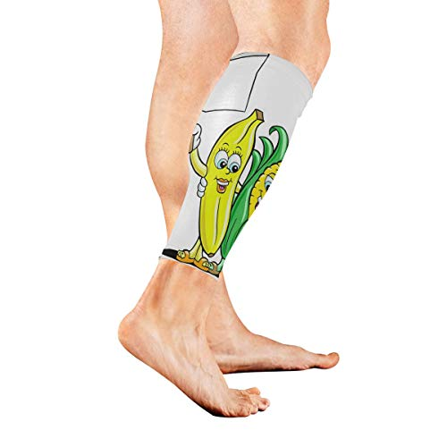 KMAND Leg Sleeve Animated Fruit Compression Socks Support for sale  Delivered anywhere in USA