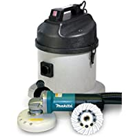 Dustless Makita 4 «? Concrete Grinding System With Vacuum