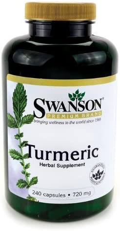 Turmeric 720 mg 240 Caps Pack of 12 Value Pack