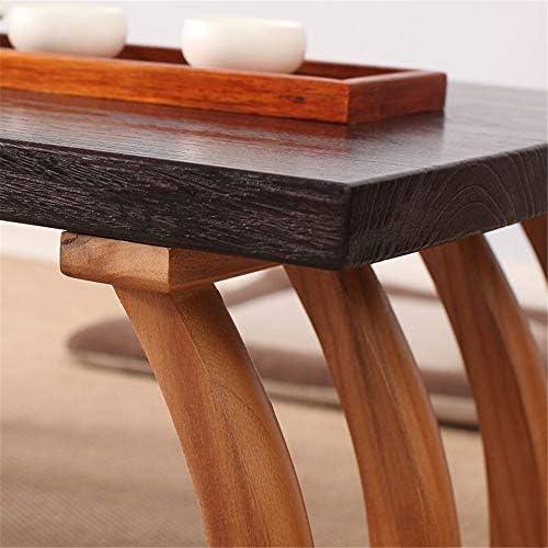 畳コーヒーテーブル リビングルームのための創造的な和室テーブル和風窓敷居バルコニー出窓テーブルコーヒーテーブルの組み合わせ 抜群の安定性と耐久性 (色 : 褐色, Size : 70x45x30cm)