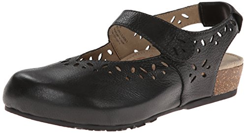 Aetrex Women's Cheryl Mary Jane Sandal, Black, 9 M US (Mary Leather Janes Aetrex)