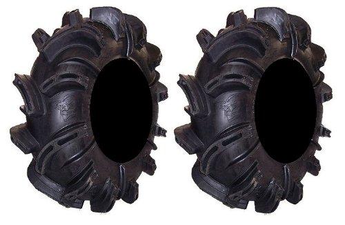 (Pair of Gorilla Silverback (6ply) ATV Mud Tires 30x11-14 (2))