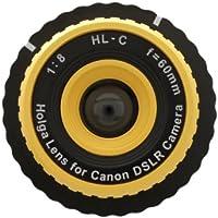 Holga Lens for Canon EOS 7D 6D 5D Mark III 5D Mark II 60Da 60D 50D 40D 30D 20D 10D Yellow
