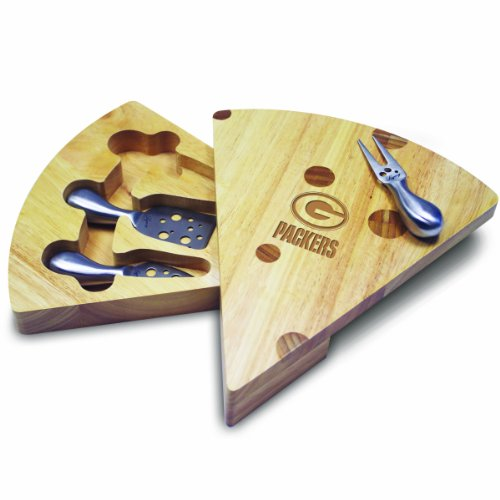 (NFL Green Bay Packers Swiss Cheese Set with Cheese Tools)