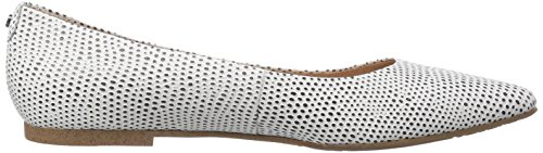 Belmondo 70311502 - Bailarinas de cuero para mujer blanco - Weiß (bianco)