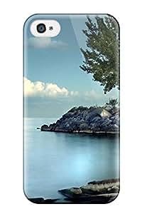 Anti-scratch And Shatterproof Beach Phone Case For Iphone 5C/ High Quality Tpu Case