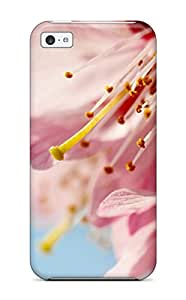 Hot New K Flower Case Cover For Iphone 5c With Perfect Design 1525878K43450984