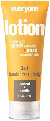 Everyone 3-in-1 Lotion, Apricot and Vanilla, 6 Count