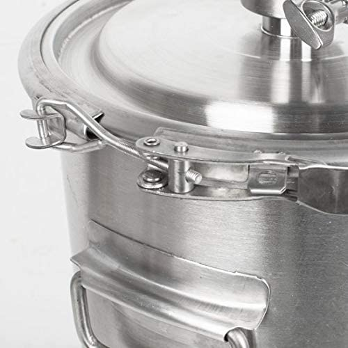 ixaer 9.3Gal Alcohol Ethanol Distiller Home Brew Still Wine Making Tools Boiler Stainless Steel Water Alcohol Distiller Machine US Stock