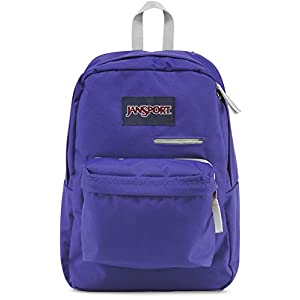JanSport Unisex Digibreak Violet Purple Backpack