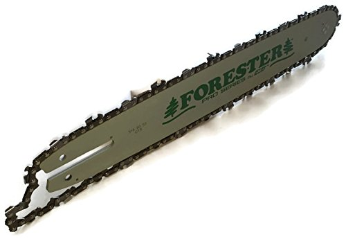 Forester 16'' Bar & chain MS170 MS180 MS192 MS200 MS210 MS211 009 3/8 pitch 50 gauge by Forester